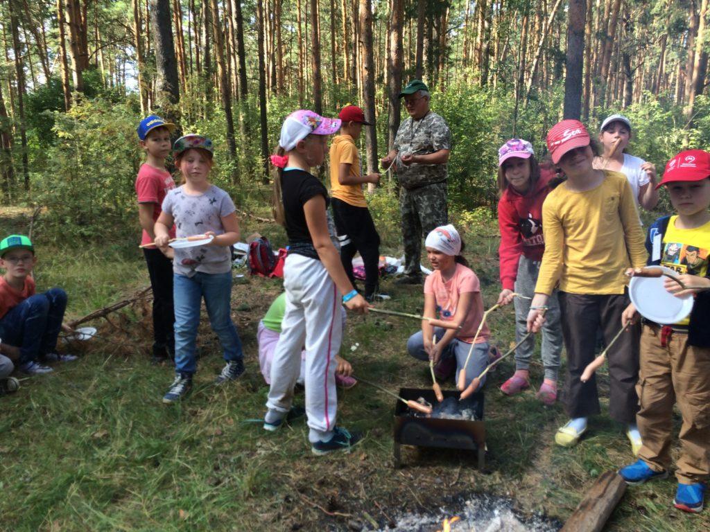 Квест в летнем лагере сценарий